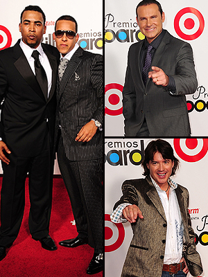 Daddy Yankee, Don Omar, Arhtur Hanlon, Alan Tacher