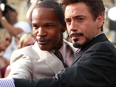 Robert Downey Jr., Jamie Foxx