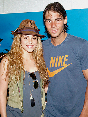 Shakira, Rafael Nadal