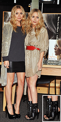 Mary-Kate Olsen, Shoes