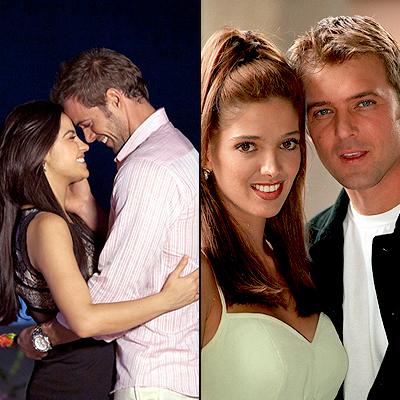 El triunfo del amor, El privilegio de amar, Refritos de telenovelas
