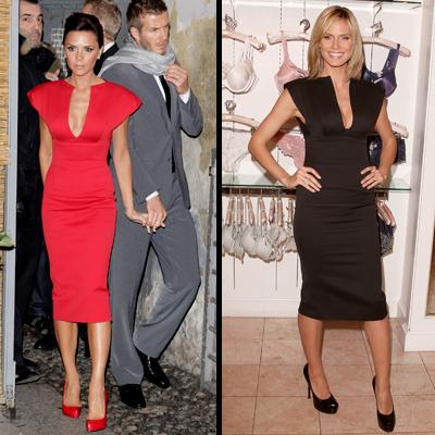 Victoria Beckham, Heidi Klum, Moda Blog