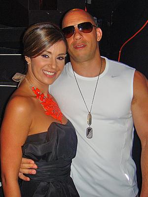 Catherine Siachoque, Vin Diesel