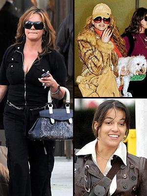 Jenni Rivera, Paulina Rubio, Michelle Rodríguez, Escándalos de aeropuerto