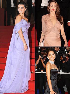 Penélope Cruz, Angelina Jolie, Bárbara Mori, Principal Cannes