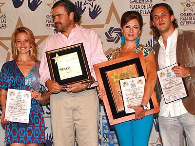 Altair Jarabo, Carlos MOreno, Leticia Calderón, Sebastián Zurita