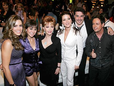 Luz Elena González, Norma Lazareno, Rodrigo Vidal