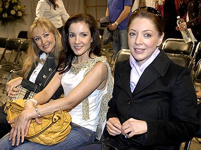 Marisol Santacruz, Karla Álvarez, Edith González