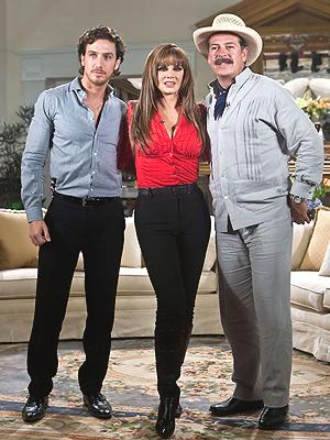 Eugenio Siller, Lucía Méndez, Sergio Goyri