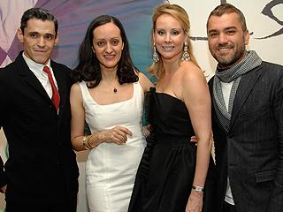 Rubén Toledo, Isabel Toledo, Yaz Hernández, Edmundo Castillo