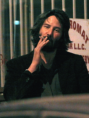 KEANU RELAXED