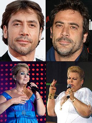 Separados al nacer, Javier Bardem, Jeffrey Dean Morgan, Lupita D'Alessio, Paquita la del Barrio