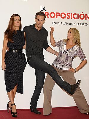 Sandra Bullock, Ryan Reynolds, Anne Fletcher