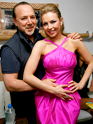 Thalía, Tommy Mottola, Now and Then, Parejas