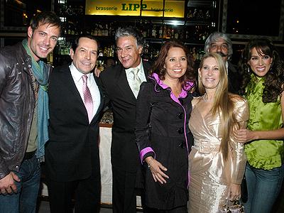 William Levy, Jacqueline Bracamontes, Karla Estrada, Juan José Origel