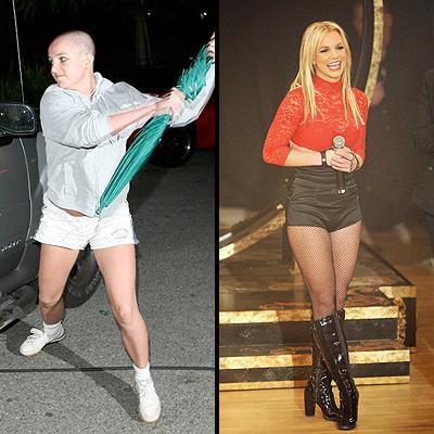 Britney Spears,Peludos y pelones