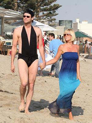 Jenny McCarthy, Jim Carrey, Vacaciones con los famosos