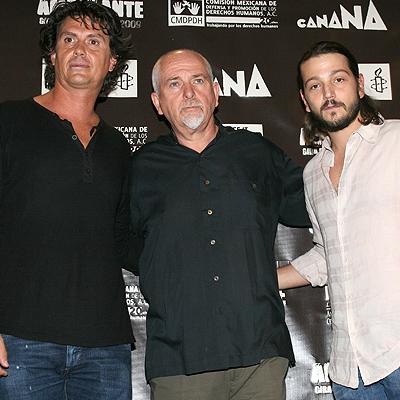 Saúl Hernández, Peter Gabriel, Diego Luna
