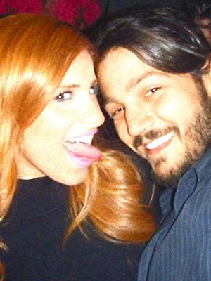 Pamela Manzur y Diego Luna