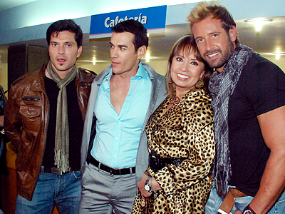 Marcelo Córdova, David Zepeda, Karla Estrada, Gabriel Soto