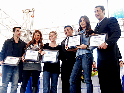 Garibaldi, Patricia Manterola, Pilar Montenegro, Sergio Mayer