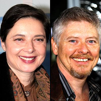 Isabella Rosellini y Dave Foley