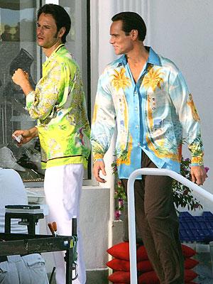 Rodrigo Santoro y Jim Carrey