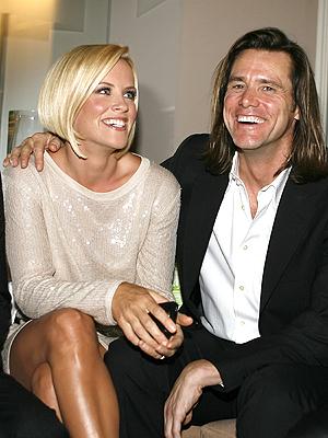 Jenny McCarthy y Jim Carrey