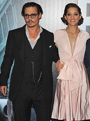 Jhonny Depp, Marion Cotillard