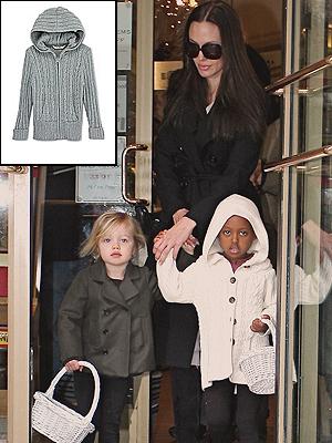 ZAHARA, Angelina Jolie, Shiloh, El look por menos