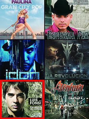 Luis Fonsi, Wisin y Yandel, Paulina Rubio, Espinoza Paz, Don Omar, Aventura,Premios People en Español