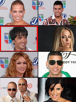 Fanny Lu, Paulina Rubio, Shakira, Nelly Furtado, Tito El Bambino, Daddy Yankee, Wisin y Yandel, Luis Fonsi, Premios People en Español