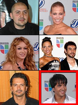 Luis Fonsi, Paulina Rubio, Fanny Lu, Ricardo Arjona, Reyli, La 5ta Estación, Premios People en Español