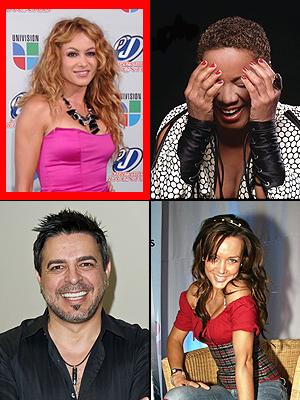 Paulina Rubio, Choco Orta, Luis Enrique, Fey, Premios People en Español