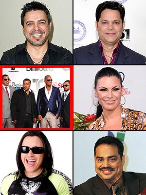 Aventura, Olga Tañón, Luis Enrique, Gilberto Santa Rosa, ELvis Crespo, Rey RUiz, Premios People en Español