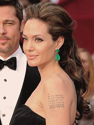 Angelina Jolie, Mejores peinados