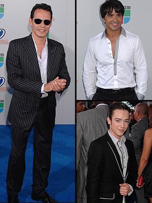 Principal Ellos, Premio Juventud 2009, Marc Anthony, Luis Fonsi, Pee Wee