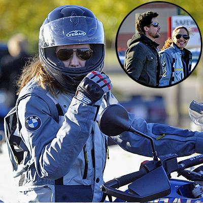 Angelina Jolie, Brad PItt, Famosos sobre ruedas