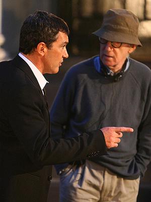 Antonio BAnderas, Woody Allen