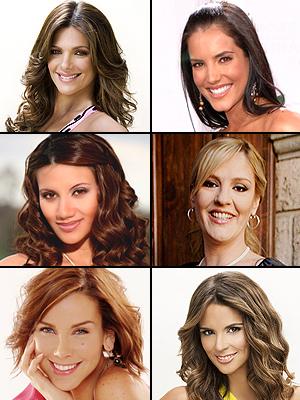 Premios People En Espanol 2009. La embarazada más linda: Chantal Andere, Karen Martínez, Gaby Espino, Bárbara Bermudo, Argelia Atilano, Gabriela Vergara