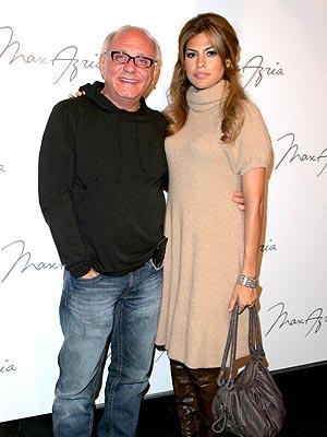 Eva Mendes y Max Azria
