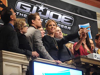 Channing Tatum, Sienna Miller, G.I. Joe