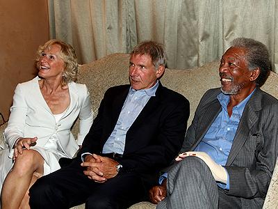 Glenn Close, Harrison Ford, Morgan Freeman