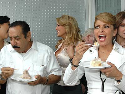 Itatí Cantoral,Lalo el Mimo