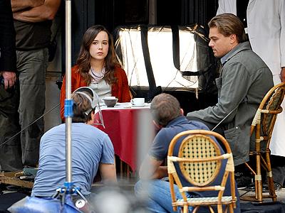 Leonardo Di Caprio, Ellen Page