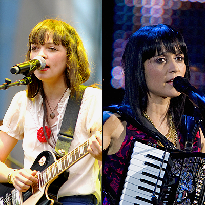 Natalia Lafourcade, Julieta Venegas, Nueva generación
