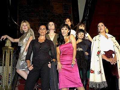 ELy GUerra, Cecilia Toussaint, Natalia Lafourcade, Susana Zabaleta, Las corregidoras