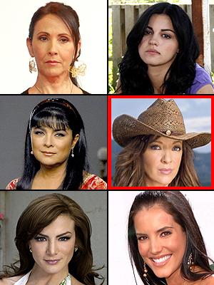 Premios People En Español 2009: Mejor Actriz. Blanca Guerra, Maite Perroni, Victoria Ruffo, Edith González, Silvia Navarro, Gaby Espino