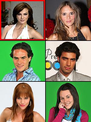 Premios People En Español 2009: Sorpresa del año. Silvia Navarro, Karen Martínez, Jorge Poza, Jencarlos Canela, María Fernanda Yepes, Zuria Vega