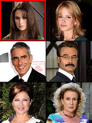 Premios People En Español 2009: Mejor Villano/a. Lucero, Altair Jarabo, Miguel Varoni, Sergio Sendel, Leticia Calderón, Laura Zapata